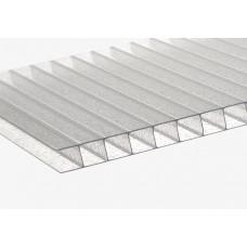 Сотовый полікарбонат Berolux прозорий толщина 10 мм