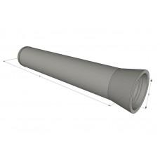 Труба безнапорная ж/б ТБ 120.50-2 виброгидропрессованная