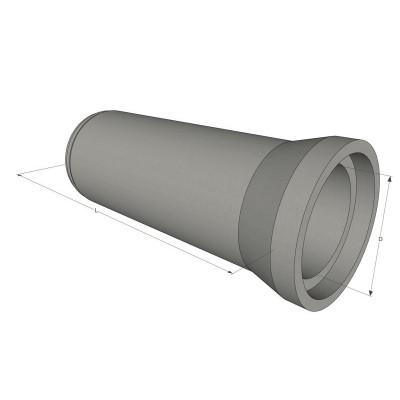 Труба безнапорная ж/б ТС 120.30-2 вертикального формования