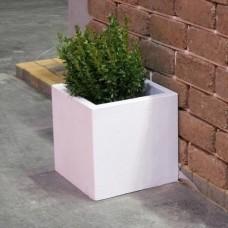 Бетонная ваза Куб большой