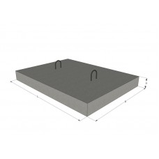 Плита покрытия плоская ПТ 12.5-11-9
