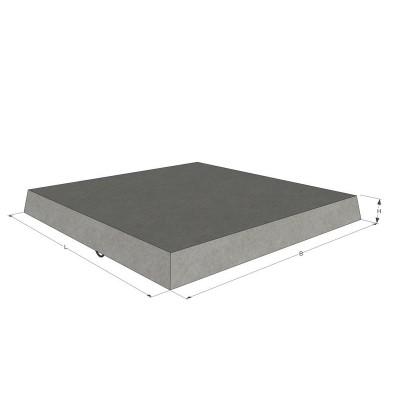 Плита бетонная тротуарная П1 (арм.)