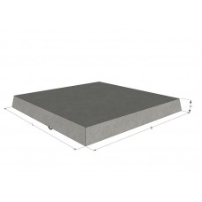 Плита бетонная тротуарная 6П5