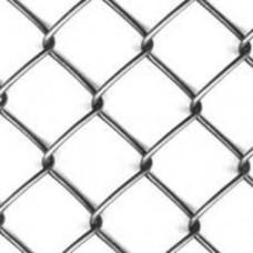 Сетка плетеная Рабица оцинкованная 55х55х2,5мм