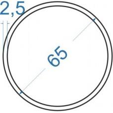 Труба алюминиевая круглая ø 65x2,5 мм, АД31