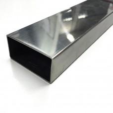 Труба нержавеющая прямоугольная 100х50х2.0 АISI 304 (08Х18Н10)